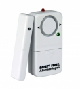 Fensteralarm Safety First inkl. Batterien (Weiß)
